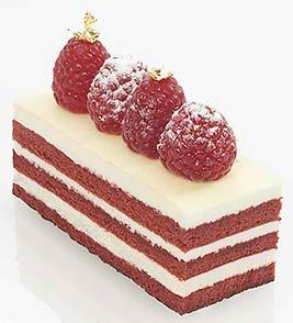 Symphony Pastires Red Velvet Strip for sale